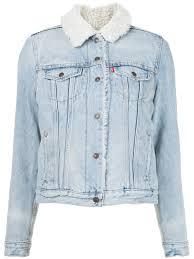 light blue cotton denim jacket from levi s women jackets levis loveland newest