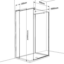 Compact Walk in Showers - sizes start from 1100 x 800 http://www