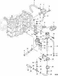 mercury marine hp jet efi cylinder stroke fuel pump parts engine section