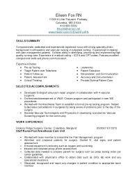 Icu Nurse Experience Resume Resumes Examples Without Orlandomoving Co