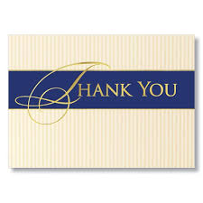 Image Detail For Classic Business Thank You Cards For Clients And