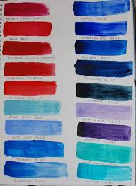 Matisse Colour Chart Derivan Matisse Flow Acrylics Library Wetcanvas Matisse
