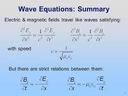 5 wave equations summary