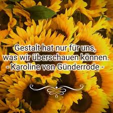 Sonnenblumenkind Sonnenblumenkind Zitate Karolinevongünderrode