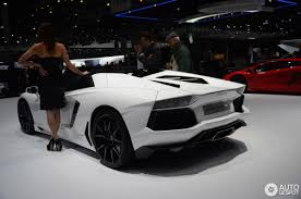 2013: Lamborghini Aventador LP700-4 Roadster