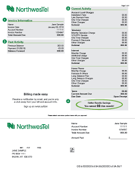 Getting Paid Monthly Understanding Your Bill Northwestel