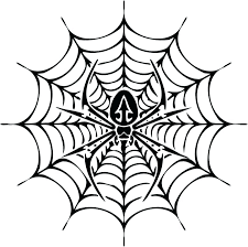 Spider Pattern Printable Simple Spider Web Drawing Free Download Best Simple Spider