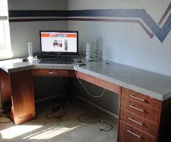custom standing desk kidney shaped mid. Build Your Own Office Desk. Desk 4 Custom Standing Kidney Shaped Mid