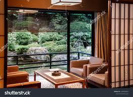 Japanese Sliding Door Design May 25 2013 Gifu Japan Vintage Vintage Interiors Stock Image