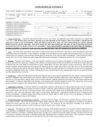 5 Snow Removal Contract Williams Mullen