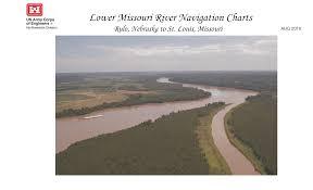 Missouri River Depth Chart Lower Missouri River Navigation Charts Rulo Nebraska To St
