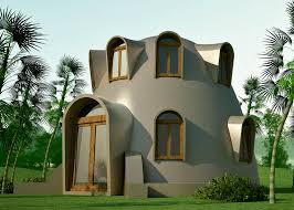 hurricane resistant   Earthbag House PlansDisaster Resistant Catenary Dome  click to enlarge