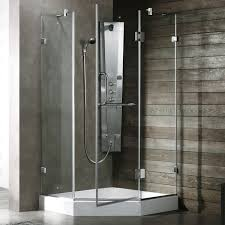 unique corner shower kits maax