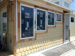 replacing trim around exterior windows replacing