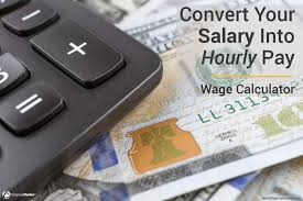 Salary Expenses Calculator Wage Calculator Convert Salary To Hourly Pay