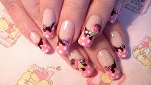 Sweets: *Cute and girly 3D ice cream* nail art design - Tutorial ...