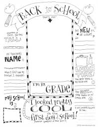 Small Picture Coloring Pages First Day Of School Coloring Page Skip To My Lou