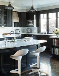 30 Best Black Kitchen Cabinets - Kitchen Design Ideas With Black Cupboards
