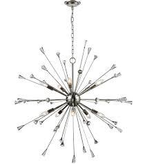 elk 33031 10 sprigny 10 light 38 inch polished nickel chandelier ceiling light photo