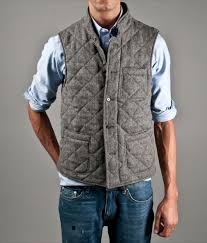 Quilted Vest Men - The Quilting Ideas & ... kitsuné quilted herringbone vest por homme men s lifestyle ... Adamdwight.com