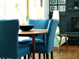 teal dining room chairs navy blue dark