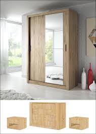 wardrobes modern bedroom set arti 6 2 sliding door wardrobe 120cm in oak shetland sliding