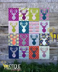 Antler Quilt Design & Mysterious Pattern By Antler Quilt Design ... & Making It Fun: Rustique By Emily Herrick. image number 16 of antler quilt  design ... Adamdwight.com