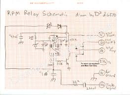 technical information page rpm relay schematic