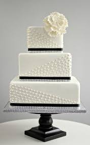interesting decoration black and white wedding cakes surprising 49