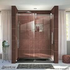 enigma z 56 60 h 76 fully frameless sliding shower door