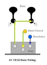53 horn relay for 12v ford truck Car Horn Relay Wiring Diagram 12V Horn Wiring Diagram