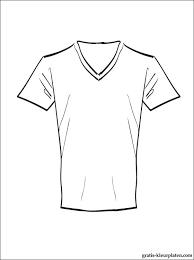 T Shirt Om In Te Kleuren Gratis Kleurplaten