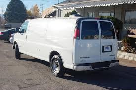 CNG Utah - 2002 Chevrolet Express 2500 Extended Cargo Van