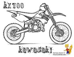 Small Picture Rough Rider Dirt Bike Coloring Pages Dirt Bike Free Dirt