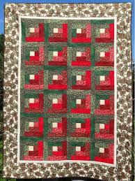 christmas log cabin quilt pattern patchwork quilting