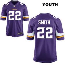 Minnesota Game No Jersey Vikings Nike Purple Home Smith 22 Football Harrison Youth afffccbdeecc|You're Not Incorrect