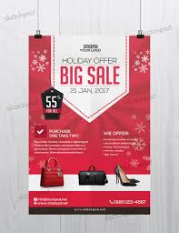 Holiday 2017 Big Sale Free Psd Flyer Template Free Psd