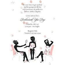 Free Printable Spa Party Invitations Birthday Party Invitations
