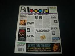 Details About 1993 August 28 Billboard Magazine Hot 100 Charts Rock Pop Music Pb 3189