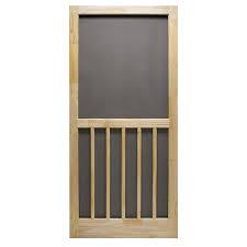 screen doors menards. superior nantucket 36 in. w x 81-1/2 h natural wood screen door (3952na3068) - doors \\u0026 hardware kits ace hardware\ menards n