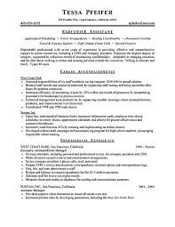 Sample Executive Assistant Resume Adorable Executive Assistant Resume Sample Beautiful Best Administrative