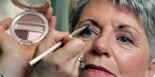 makeup tips for women over 50 applying