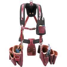 occidental leather 5093 stronghold beltless 6 bag framer tool belt