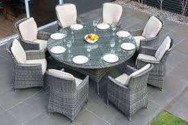 large round outdoor table 8 chair patio dining set round outdoor dining table set large outdoor