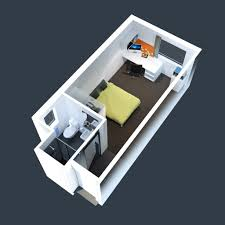 Home Design   Bedroom Apartment Floor Plans Ideas With - Studio apartment floor plans 3d