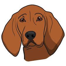 Redbone Coonhound Dog Decal – SignMission