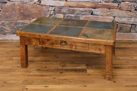 awesome collection of slate top coffee table best of at san juan 3 2 slate