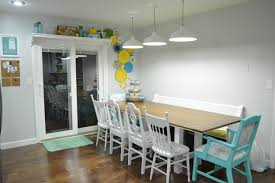 kitchen table pendant lighting. Dining Table Pendant Lights Nighttime Kitchen Lighting