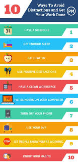 and Work Done To Get 10 Distractions Ways At Eliminate More