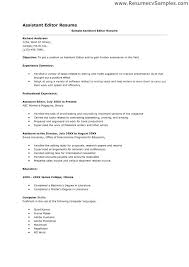 film resume samples film editor resume samples copy assistant examples sample of resumes
